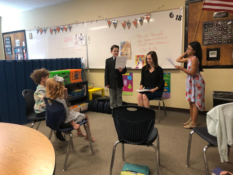 Alexa teaching our children's church